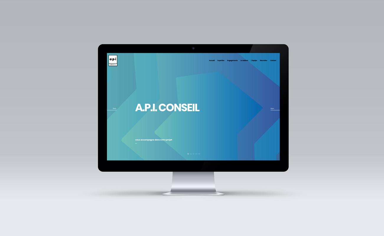 A.P.I. CONSEIL - Nouveau site web